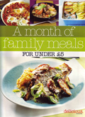 a month of family meals