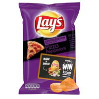 Lay's Chips 'Pizza Peperoni' limited edition