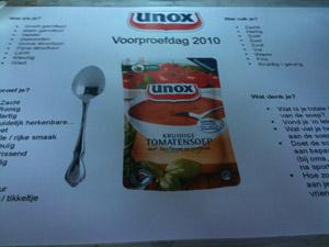 Unox Voorproefdag 2010