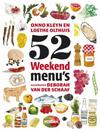 52 Weekendmenu's Onno Kleyn & Loethe Olthuis BORDER=
