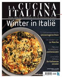 La Cucina Italiana Januari 2011