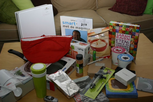 Culiperslunch 2011 Goodiebag Foodiebag