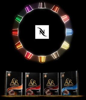 Nespresso vs. Douwe Egberts L'Or