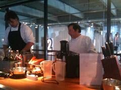 voorbereidingen Cuisinart Juicer Alain Caron en Bjorn