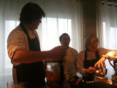 Alain Caron Bjorn kok kookfabriek