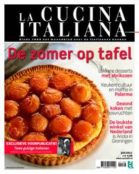 La Cucina Italiana Juni 2011