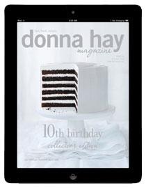 Donna Hay Magazine iPad app