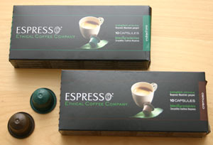 Ethical Coffee Company Espresso Cups