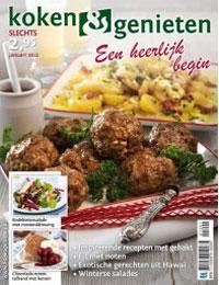 Koken & Genieten Januari 2012
