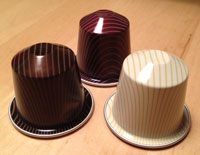Nespresso Variations 2011 cups