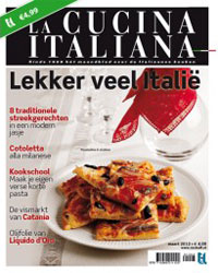 La Cucina Italiana Maart 2012