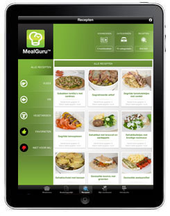 MealGuru NL iPad App