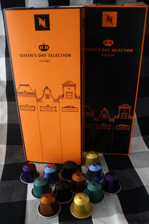Nespresso Queen's Day Selection
