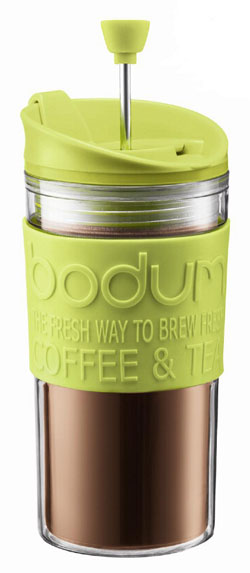 Bodum Travel Mug Cafetière Lime