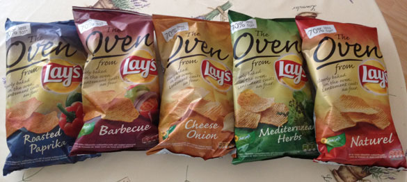 Lay's Oven Baked Chips