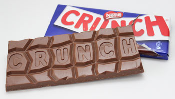 Crunch Chocolade Tablet