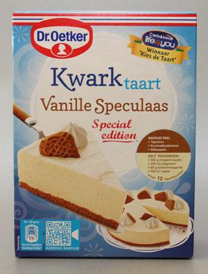 Special Edition: Dr. Oetker Kwarktaart Vanille Speculaas