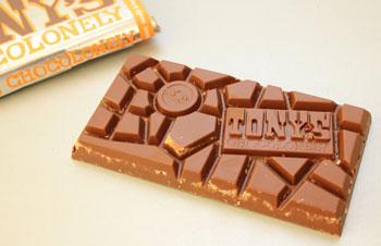 Tony's Chocolonely Limited Editions 2012 Melkchocolade, Karamel en een korreltje Zout