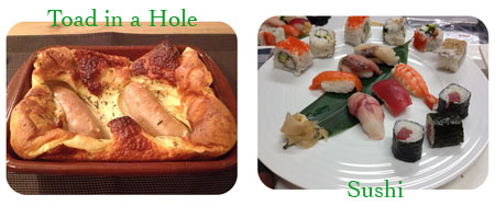 Toad in a Hole - Sushi