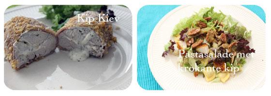 Brutsellog Favourites: Juni 2013 Kip Kiev en pasta salade met krokante kip