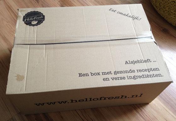 De Hello Fresh Original Box