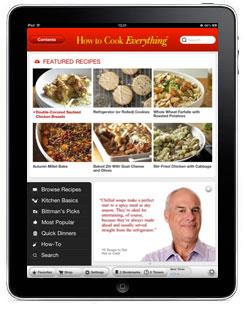 How to cook app iPad