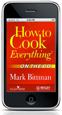 How to cook app iPhone