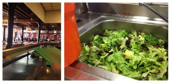Jamie Magazine Foodbloggersdag: Het verslag en zo kijk je 15 in vanuit keuken / veel sla wassen