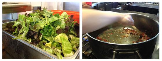 Jamie Magazine Foodbloggersdag: Het verslag veel sla net droog / grote pan voor de pastasaus