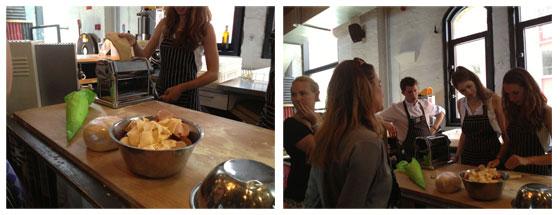 Jamie Magazine Foodbloggersdag: Het verslag pasta draaien / pasta vouwen