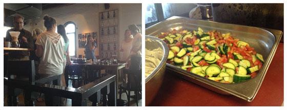 Jamie Magazine Foodbloggersdag: Het verslag koffie workshop / komkommer tomaat salade