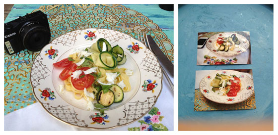 Jamie Magazine Foodbloggersdag: Het verslag setje met camera / mijn foto's