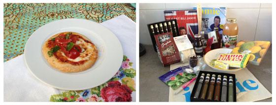 Jamie Magazine Foodbloggersdag: Het verslag mini pizza / goodiebag
