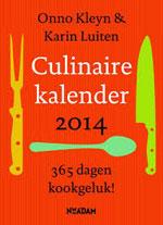 De Culinaire Kalender 2014 onno kleyn karin luiten