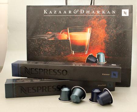Nespresso Dharkan en Kazaar