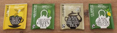 clipper tea zakjes