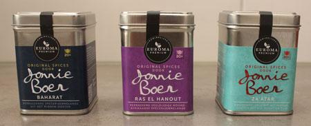 Euroma Original Spices by Jonnie Boer baharat, ras el hanout en za'ahar