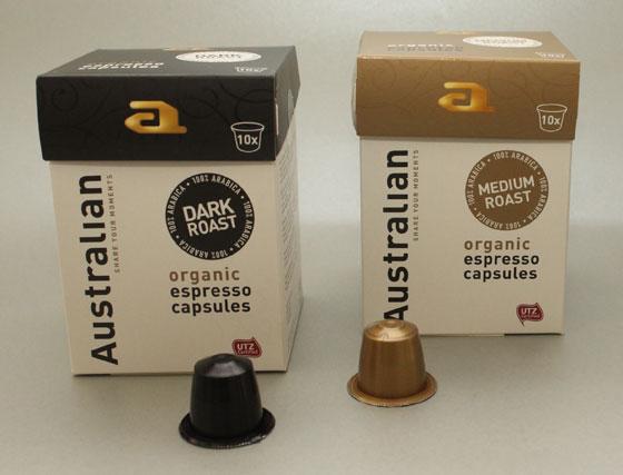 Australian Organic Espresso Coffee Cups