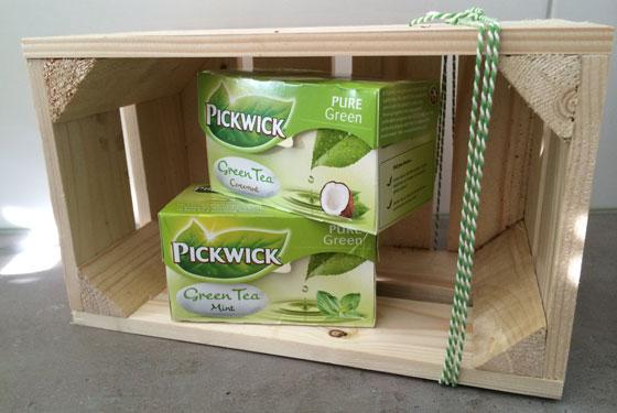 Pickwick Groene Thee Kokosnoot en Mint