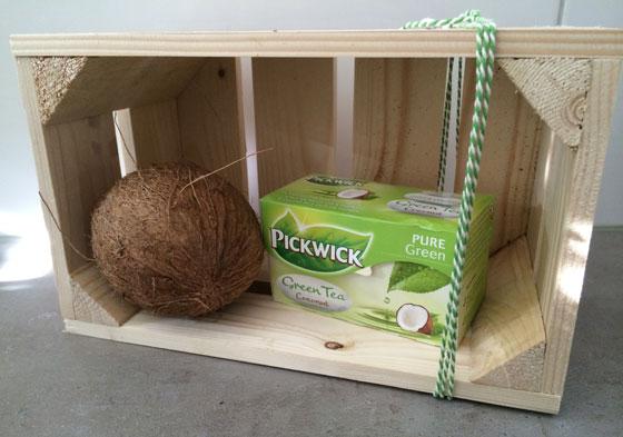 Pickwick Groene Thee Kokosnoot