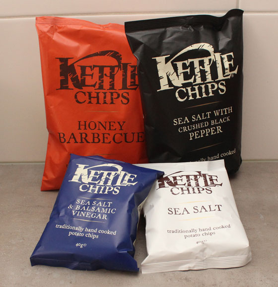 Kettle Chips, Traditionally Handcooked Potato Chips