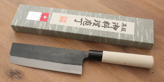 yasiki kuro nakiri groentemes japansemessen.nl