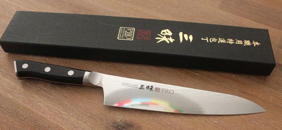 Zanmai Classic Gyuto (chefsmes) japansemessen.nl