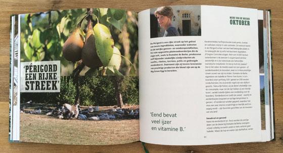 Het Jaar Rond Genieten met Menu van de Maand 1 Big Green Egg boek inkijkje verhaal