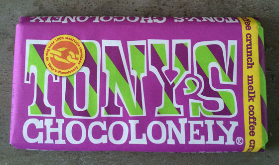 Tony Chocolonely Melk Coffee Crunch