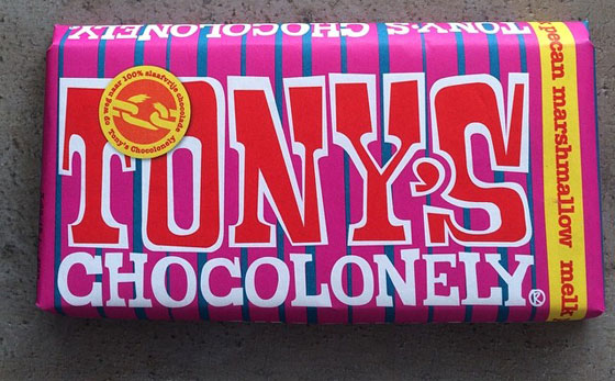 Tony Chocolonely Pecan Marshmallow