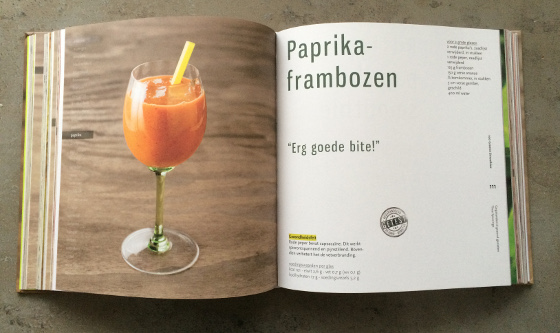 100 Groene Smoothies - Thea Spierings rode smoothie
