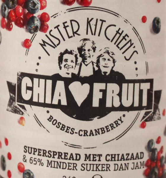 de heren van Mister Kitchen op het label