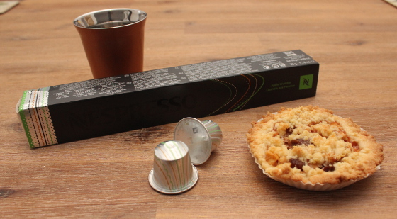 Nespresso Variations Apple Crumble