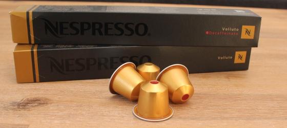 Nespresso Volluto en Nespresso Volluto Decaffeiniato